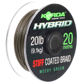Korda Hybrid Stiff Coated Braid 20lb Hooklink