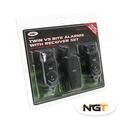 NGT 2 Rod Wireless VS Alarm & Receiver Set