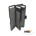 NGT 6 Way, 72 Rig Carp Stiff Rig Wallet