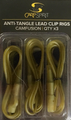 Carp Spirit Anti-Tangle Lead Clip Rigs