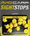 Avid Carp Sight Stops - Long Yellow