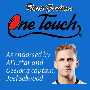One- Touch endorsed by Joel Selwood
