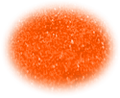 UV Electric Orange Glitter