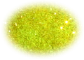 UV Electric Yellow Glitter