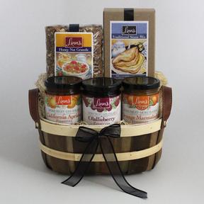 Linn's Fruit Preserves & Scones Gift Basket Tea