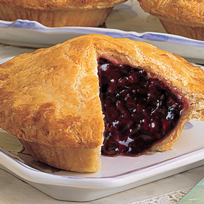 12  Ready-to-Bake Single-Serving Fruit Pies (Olallieberry, shown)