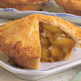 4 Fresh-Baked Single-Serving Fruit Pies (Old Fashioned Apple, shown)