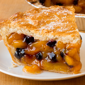 Ready-to-Bake Peach-Blueberry Pie