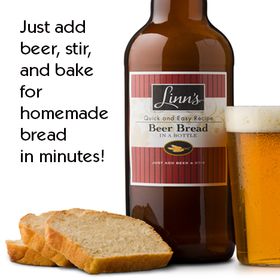 Linn's Beer Bread Mix in a Bottle