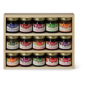 Linn's Fruit Preserve Sampler Gift Box