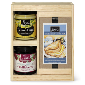 Linn's Traditional Scone 'n Lemon Curd Gift Box