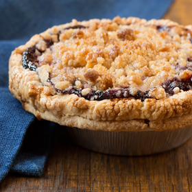 Linn's Ready-to-Eat Olallieberry Crumble Cobbler - Thaw & Serve