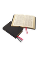 Compact Westminster Reference Bible (KJV) - Black Meriva Calfskin Leather