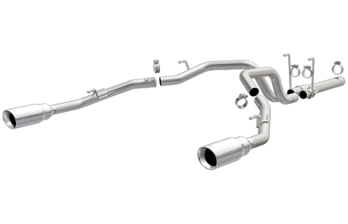 Magnaflow 19359 | Ram 1500 | 3.0L | muffler Delete-Stainless Diesel Dual Rear Exit Performance Exhaust System