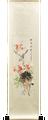 Red Plum Blossom & Bird Scroll