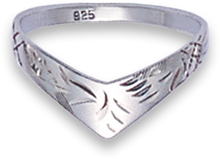 Silver Ladies Rings 1169