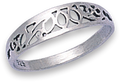 Silver Ladies Rings 1178