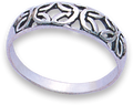 Silver Ladies Rings 1181