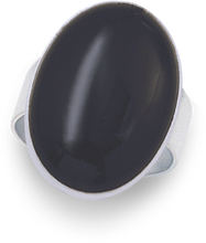Silver Onyx Rings 2190ON