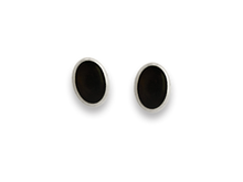Silver Stone & Shell Stud Earrings 5564ON