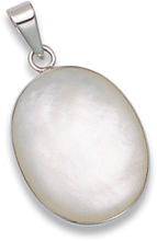 Silver Mother of Pearl Pendant 8276MOP