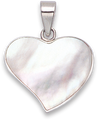 Silver Shell Pendant 8303MOP