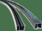 4.5m width 1in Resin Rail L=1430mm