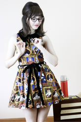 Retrolicious - Gallery Le Meow Dress