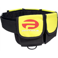 Pinnacle Cumfo Pocket Scuba Diving Dive Weight Belt Yellow