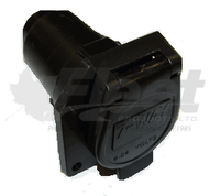 RT12-707S - 7 WIRE RECEPTACLE (FLAT PIN)