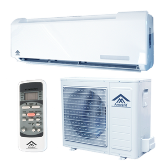 Amvent INVERTER A74GW2C-I2 24000 BTU SEER 16.0 COOLING + HEAT PUMP Mini Split Ductless Air Conditioner