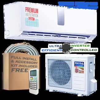 Ramsond 37SEG 12000 BTU Inverter Ductless Mini Split AC + Heat Pump (110~115V)