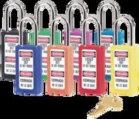 Master Lock #411AST Keyed Different Set