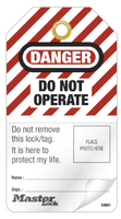 #S4801 Customizable Photo ID Safety Tag