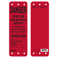 #S4700 Scaffold Safety Tag