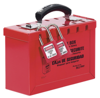 #498A Portable Group Lock Box. Padlocks not included