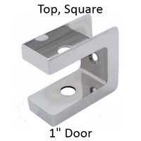 Bathroom stall top hinge door insert #90H430