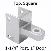 Top bathroom stall hinge bracket #90H181