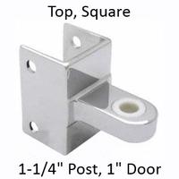 Top bathroom stall hinge bracket #90H181