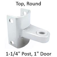 Top bathroom stall hinge bracket #90H246