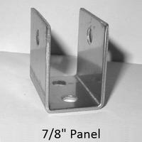 stainless steel u bracket for 78 bathroom stall panel