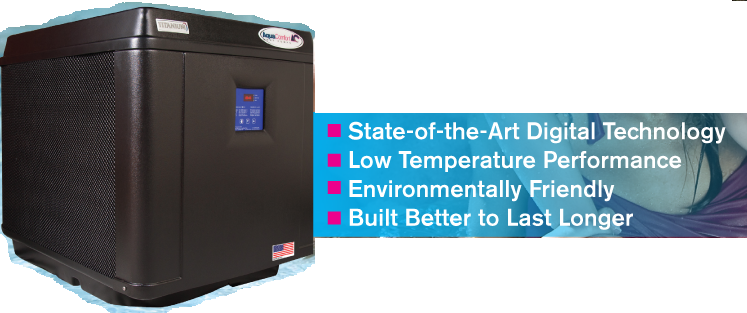 signature series heat pump from AquaComfort