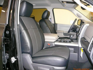 Clazzio Seat Covers - Dodge Ram 2011-2012