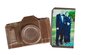 Chocolate Camera - Custom Printed