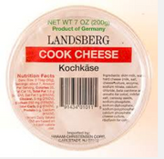 Landsberg German Cooking Cheese (12/7 oz.)