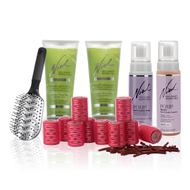 Healthy Hair Styling Kit with Rollers