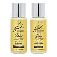 DIVA Liquid Gold Travel-Size Shampoo & Conditioner Kit