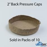 "Ultratec 2"" Back Pressure Caps (10/Pkg)"