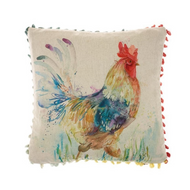 Voyage Maison Strutting Cockerel Arthouse Mini Cushion (AH16004)