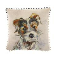 Voyage Maison Baxter Terrier Arthouse Mini Cushion (AH16001)